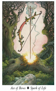 From the Wildwood Tarot