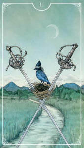From the Ostara Tarot
