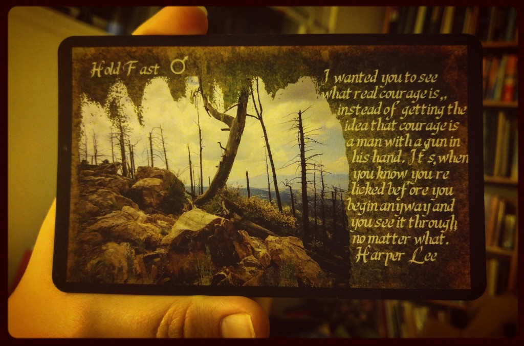 Card from the Poet's Oracle